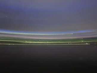 Am Rheinufer im Abendlicht
