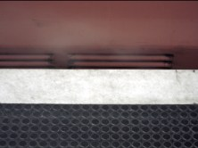 Abfahrende U-Bahn