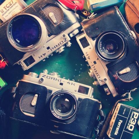 Retro Kameras Zorki 4K