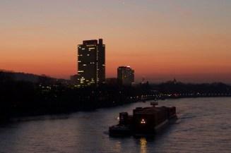 Sunset at UN Bonn