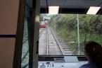 Bilbao - Unterwegs nach oben mit der Standseilbahn
