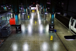 London Stansted - Express Zug von Liverpool Street zum Flughafen