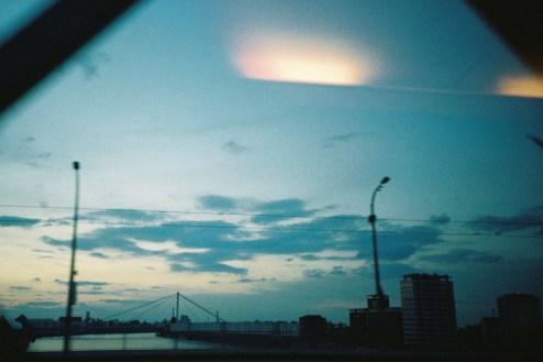 Mannheim - Abendfahrt über den Rhein mit der LOMO LC-A
