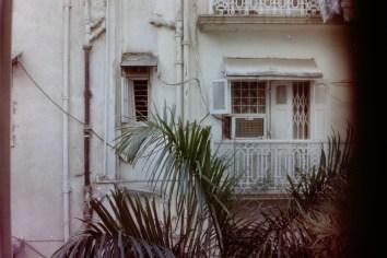 Mumbai - Blick aus meinem ersten Hostel in Mumbai, Indien