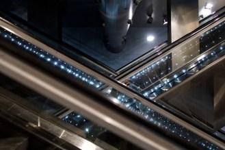 Neapel - Rolltreppen zur U-Bahn an der Station Garibaldi