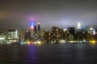 New York - Fahrt mit der NYC Ferry von Brooklyn Bridge Park,DUMBO zur East 34th St,Midtown