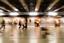 Unscharfe und Verwackelt: Meine letzte Metro, vor der Abreise in Prag