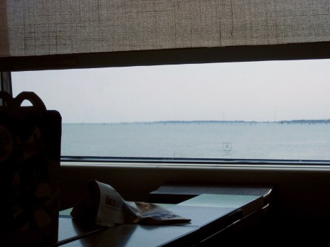 Venedig, Italien - Mit dem Zug über die Lagune fahren: Wenn man dann die Türme von Venedig sieht, ist es immer ein Fest.