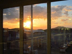 ATH - früh morgens am Flughafen von Athen
