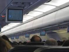 LX 1956 - Im Flugzeug von Zürich nach Barcelona