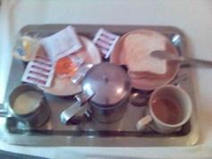 Mumbai, Indien - Frühstück