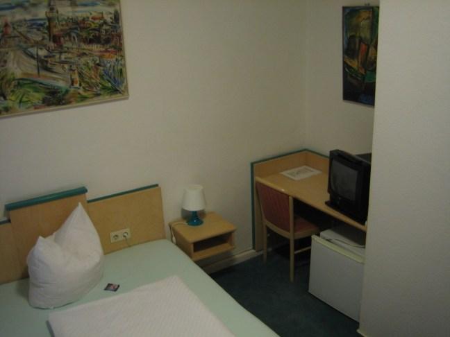 Berlin, mein erstes Hotelzimmer in der Hauptstadt