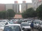 Connaught Place, Delhi - Parkplatzsuche in Indien