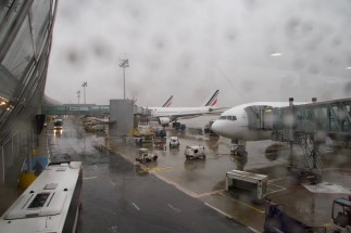 CDG - Ankommen morgens in Paris