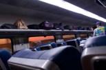 Tejas Express - Morgenlicht unterwegs von Mumbai CST nach Karmali, Goa