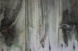 Eine alte Holzwand