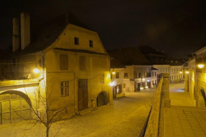Nachtspaziergang in Hermannstadt