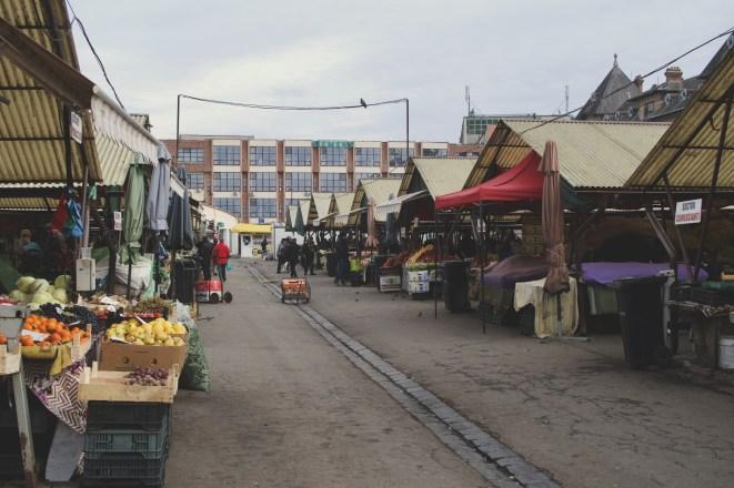 Der Zibin Markt (Cibin Market) ist der traditionelle Bauernmarkt in Hermannstadt