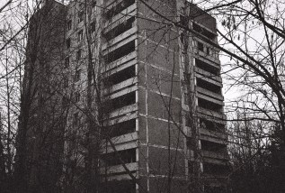 Leeres Wohnhause in Pripyat