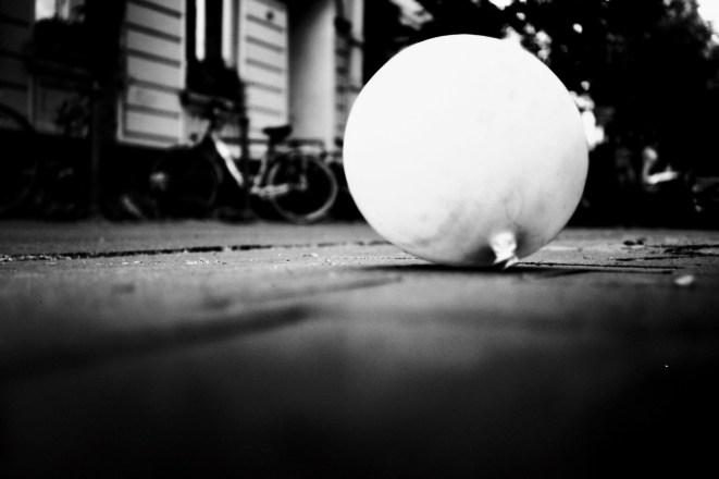 Ein Ballon in der Michaelstraße