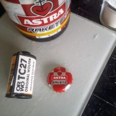 Astra Rakete ORWO TC27 Film Entwicklung Beerol