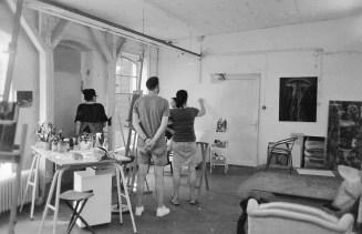 Porträtzeichnen im Atelier