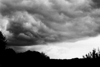 Gewitterwolken über Bornheim