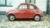 Roter Fiat 500
