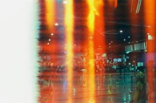 Erstes Foto BAHNHOF - CineStill Tungsten 800