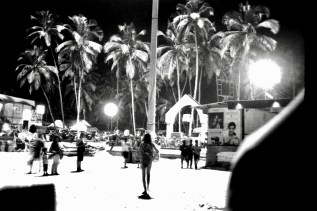 Palolem Beach at night 2