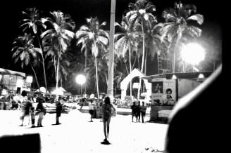 Palolem Beach at night 2