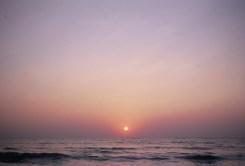 Sonnenuntergang mit dem Kodak Ektachrome E100 2