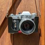 Fotoapparat: Meine russische Spiegelreflex mit Helios Objektiv