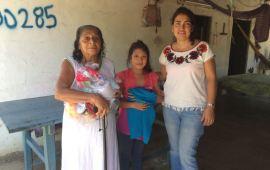 La Comunidad de Niltepec, Oaxaca, agradece a Xalapa el apoyo recibido