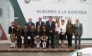 Rinde Honores a la Bandera la Dirección de Control y Estadística del Poder Judicial del Estado de Veracruz
