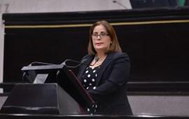Pide diputada Miriam González que Congreso de la Unión dictamine iniciativa del Congreso de Veracruz