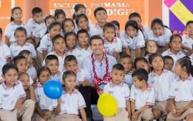 Peña Nieto, encabezó la ceremonia de Inicio del Ciclo Escolar 2017-2018
