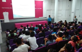 """Imparte DIF-Coatza charla """"Autoestima para niños"""" en el Curso de Verano DIF"""