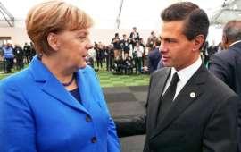 Canciller Alemana Angela Merkel salvará a México de Donald Trump