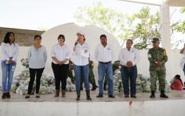 Las familias veracruzanas no están solas: Anilú Ingram