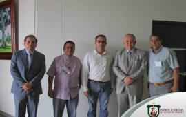 Edel Álvarez agradece a Saúl Lara donación de terreno en Tierra Blanca, para Ciudad Judicial