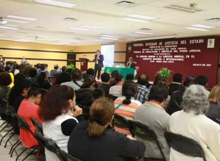 Ismael Cruz diserto sobre la relevancia de las organizaciones sindicales y los derechos humanos de cada uno de sus integrantes