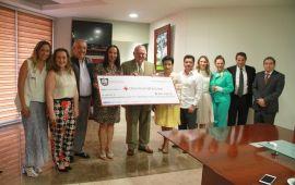 TSJVer participa en la Colecta Anual 2017 de la Cruz Roja Mexicana que encabeza la señora Leticia Márquez de Yunes, Presidenta del DIF Estatal
