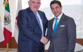 Magistrado Presidente, Edel Álvarez visita sede del Poder Judicial del Estado de México