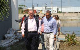 Visita Magistrado Presidente Edel Álvarez los Juzgados de Coatzacoalcos afectados por inundaciones