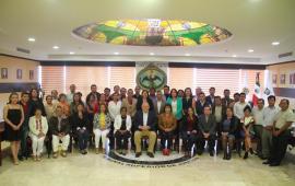 Acuden Jueces Municipales a reunión de trabajo con el Magistrado Presidente del TSJVer, Edel Álvarez