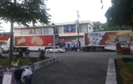 Llega a Tuxtepec ayuda humanitaria para afectados.