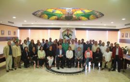 Se reúne Magistrado Presidente del TSJVer, Edel Álvarez, con Jueces Municipales de la zona sur