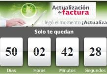Quedan menos de 50 díaspara migrar a la factura electrónica 3.3.,plazo que vence el próximo 01 de diciembre de 2017.