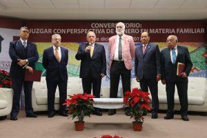 Inaugura el Magistrado Presidente Edel Álvarez, el Conversatorio: Juzgar con Perspectiva de Género en Materia Familiar